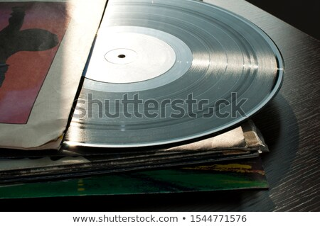 Zene retro klasszikus lemez média bakelit Stock fotó © deyangeorgiev