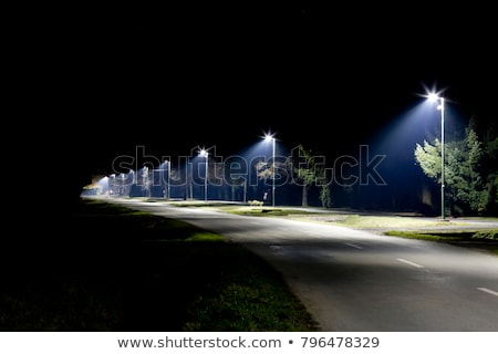 Street light and night sky Stock photo © skylight