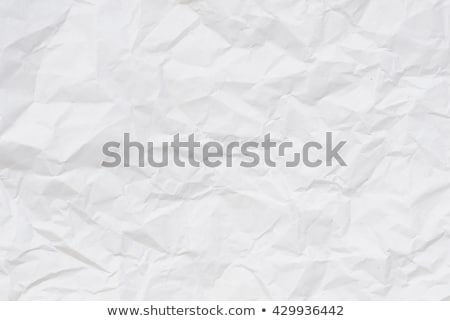 Stock photo: Old crumpled paper