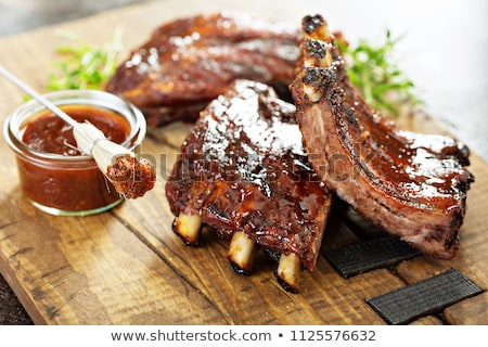 BBQ Rib Steaks Stock photo © AlphaBaby