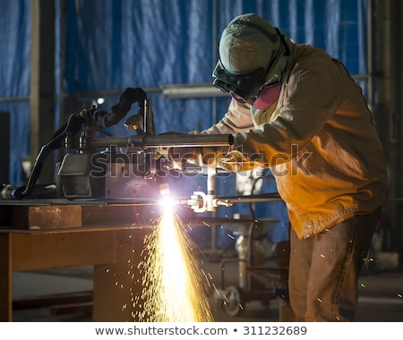 Hot blue collar Stock photo © photography33