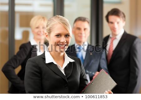 弁護士 オフィス 手 笑顔 女性 幸せ ストックフォト © photography33