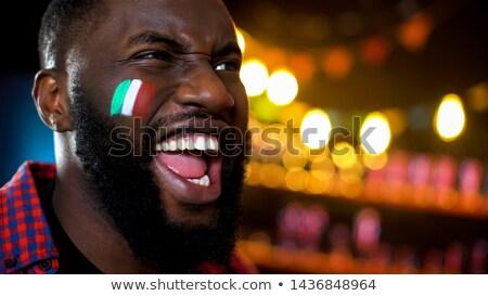 итальянский · флаг · выстрел · Рим - Сток-фото © photography33
