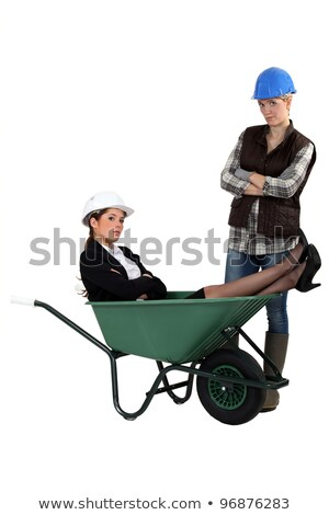 sulky females working together in public and civil engineering sector stock photo © photography33