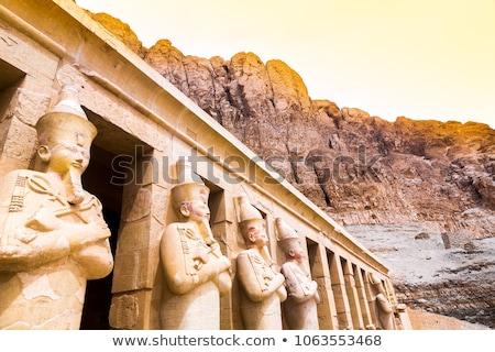 Hatchepsut Temple ruins ( Egypt) Stock photo © frank11