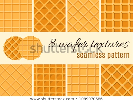 Waffles closeup stock photo © stevemc