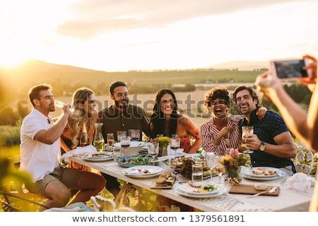 música · concerto · audiencia · grupo · pessoas · imagem - foto stock © vectomart