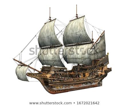 galleon Stock photo © davisales
