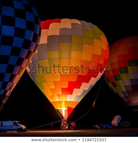 air bolloon ready for take-off stock photo © taviphoto