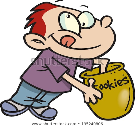 child with his hand in the cookie jar stock photo © photography33