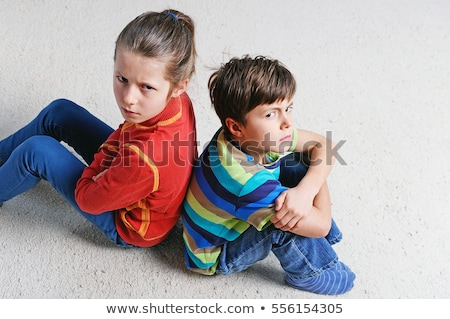 two kids sulking Stock photo © photography33