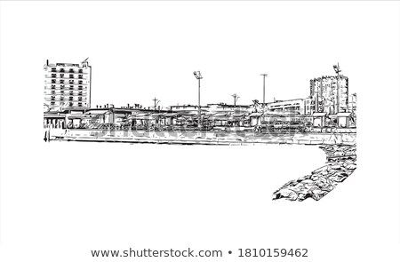 sketch landmark stock photo © angelp