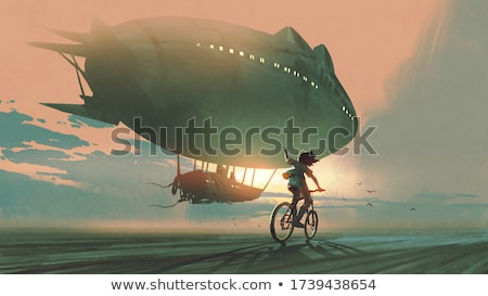 An airship Stock photo © zzve