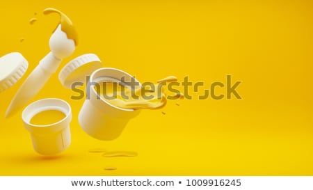 paint pouring from buckets stock photo © tashatuvango