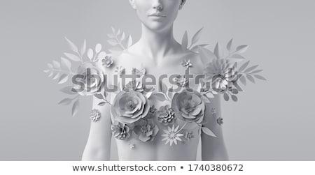 Statue of woman. Stock photo © kyolshin