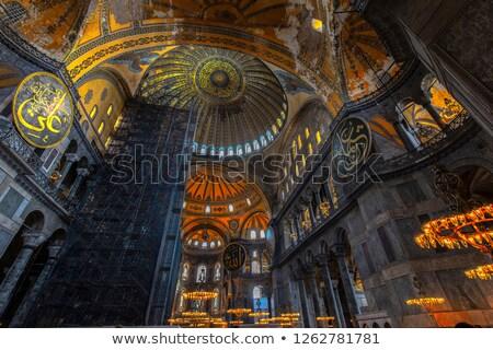 Inside Hagia Sophia  Stock photo © sophie_mcaulay