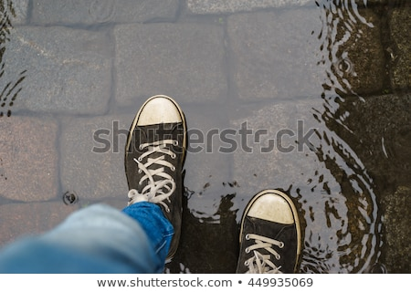 Wet Shoes Stock photo © restyler