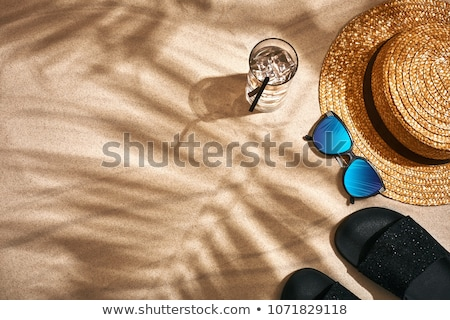 homok · óra · ikon - stock fotó © timurock