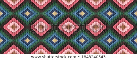 Colorful calm Rhombus. Seamless pattern Stock photo © Elmiko