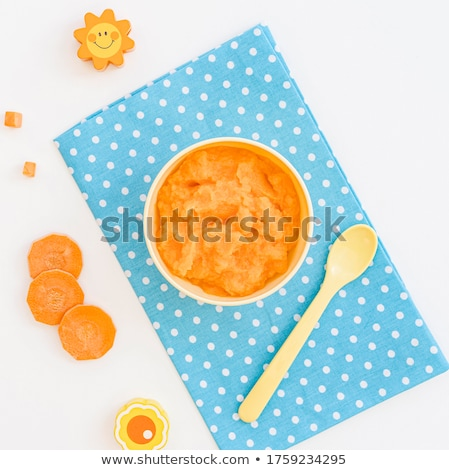 baby food, carrot puree Stock photo © M-studio
