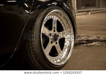 Custom Chrome Rims Stock photo © ArenaCreative