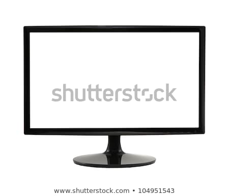 widescreen lcd monitor Stock photo © Viva