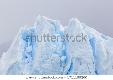 Melting ice glacier Stock photo © Anterovium
