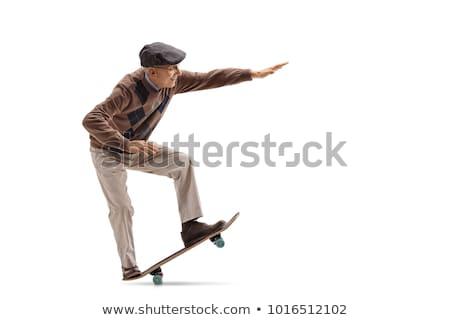 old skates stock photo © stocksnapper