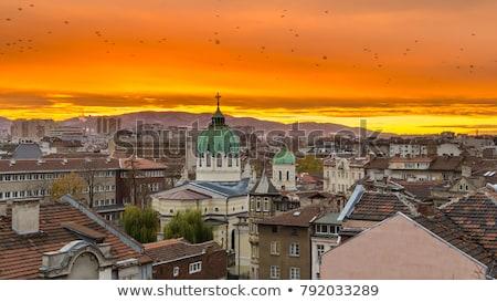 ブルガリア 白 市 ユーロ ヨーロッパ ストックフォト © chrisdorney