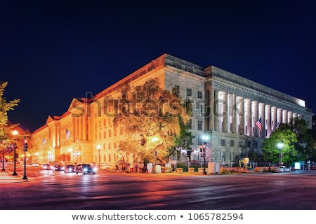 US Internal Revenue Service Building Federal Triangle Washington Stock photo © billperry