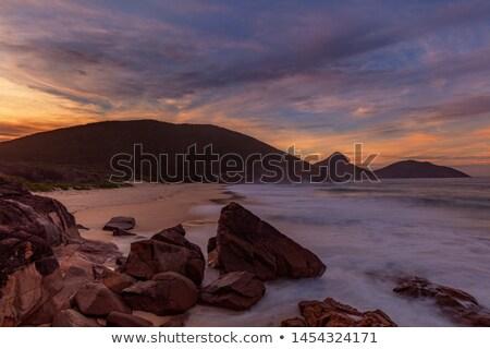 Box Beach - Nelson Bay - Australia Stock photo © jeayesy