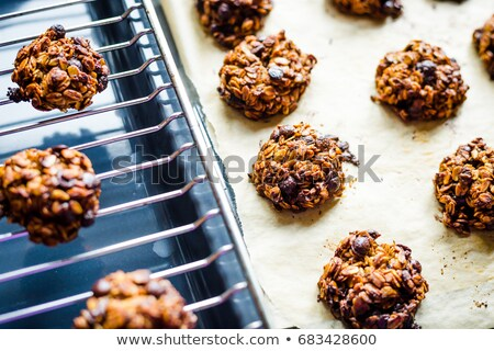 Fresh flapjack on a cooling tray Stock photo © raphotos