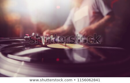 Disc Jockey Stock photo © derocz