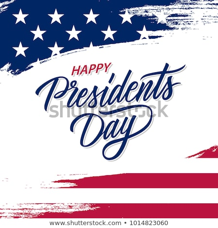 Presidents day background united states stars colorful illustrat Stock photo © bharat