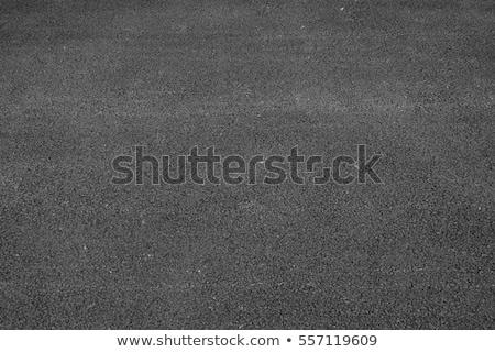 öreg aszfalt út textúra fekete beton Stock fotó © meinzahn