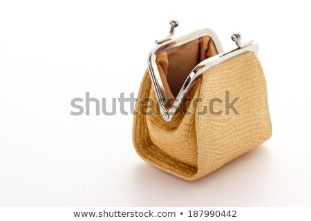 empty open purse stock photo © natika