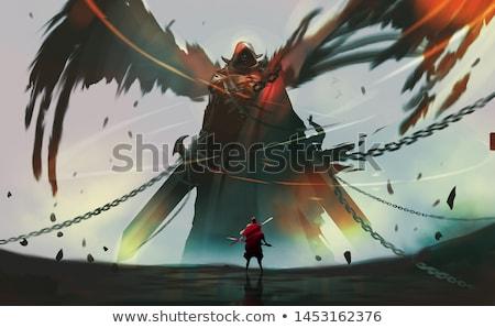 demons knight Stock photo © fmuqodas