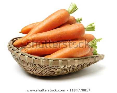 carrot in basket stock photo © zhekos