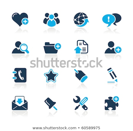 Person Computer Icon Symbol in puzzle Stock photo © Istanbul2009
