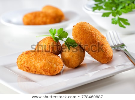 croquetas Stock photo © M-studio