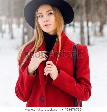 модный · джинсовой · шорты · женщину - Сток-фото © dash