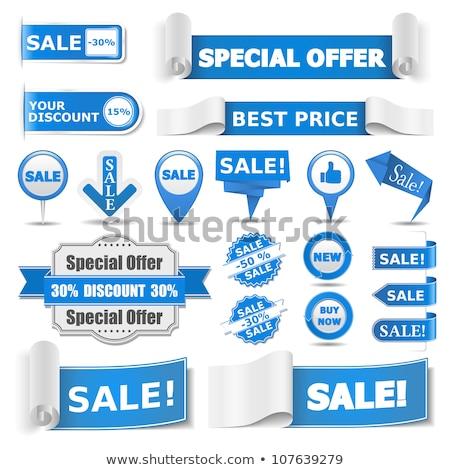 Stock photo: Thumbs Up Circular Vector Blue Web Icon Button