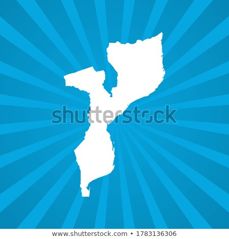 Map of Republic  Mozambique with Dot Pattern Stock photo © Istanbul2009