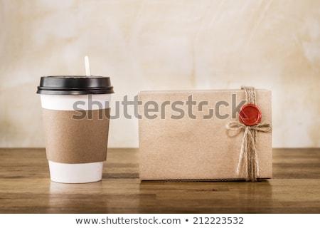 çay · zaman · kurabiye · bisküvi - stok fotoğraf © dla4