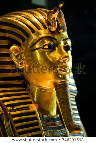 Mask of Tutankhamun's mummy Stock photo © JFJacobsz