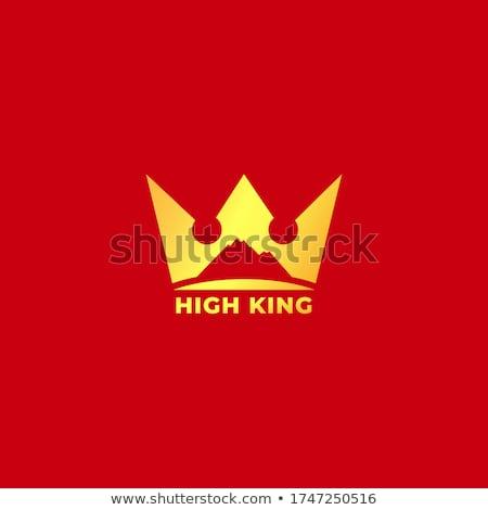 vermelho · rainha · mulher · criador · make-up · fofo - foto stock © amok