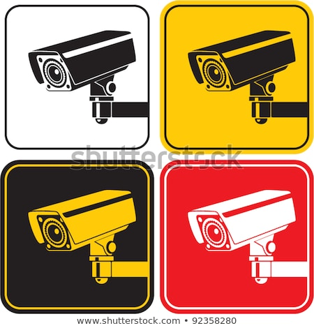 Videókamera piros vektor ikon terv videó Stock fotó © rizwanali3d