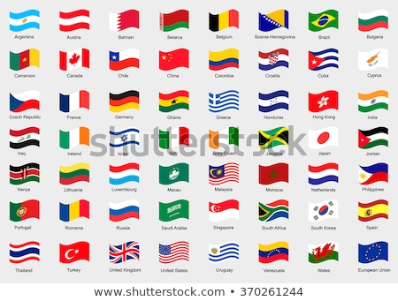 Büyük Britanya Filipinler bayraklar bilmece yalıtılmış beyaz Stok fotoğraf © Istanbul2009
