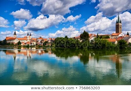 República · Checa · unesco · cidade · casas · principal - foto stock © phbcz