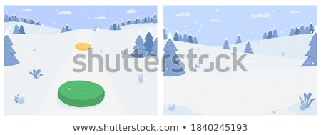 snowy forest stock photo © vapi